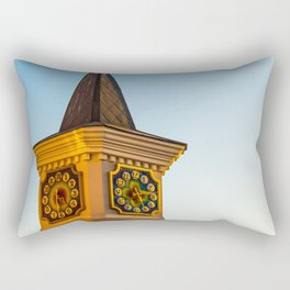 fabulous clock tower Rectangular Pillow