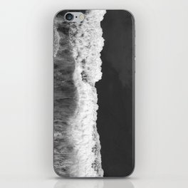 The Sea (Black and White) iPhone Skin