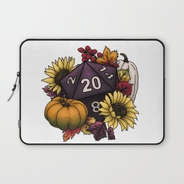 Harvest D20 - Autumn Tabletop Gaming Dice Laptop Sleeve