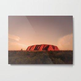 The big red rock Metal Print