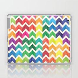 Watercolor Chevron Pattern IV Laptop & iPad Skin