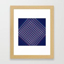 Hatched Framed Art Print