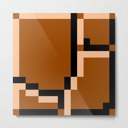 8-Bits & Pieces - Ground Metal Print