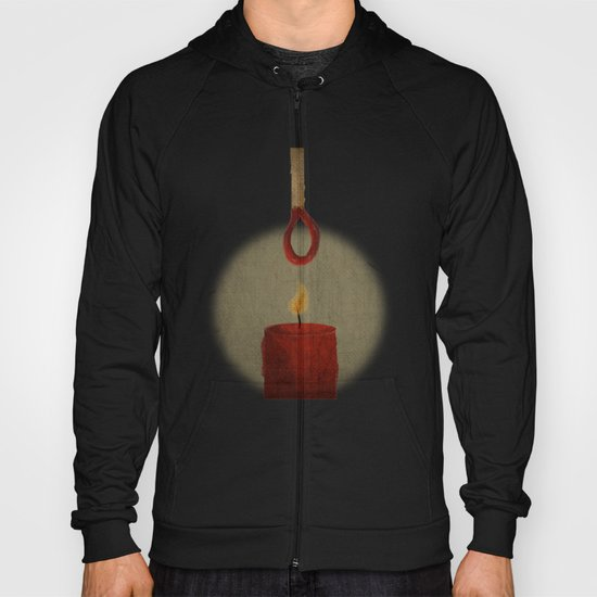 the match kills the candle Hoody