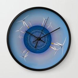 Breath Easy Wall Clock