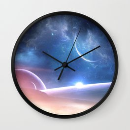 A world untouched Wall Clock
