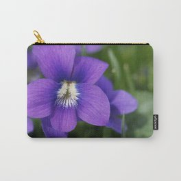 Violets Are Not Blue Carry-All Pouch