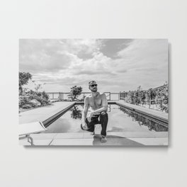 Cool in Summer Metal Print