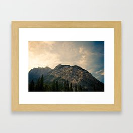 From the Bow River Framed Art Print