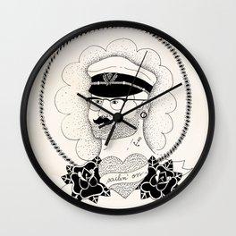 Sailin' on Wall Clock