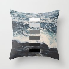 The Mysterious Package Throw Pillow