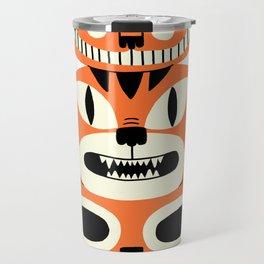 Totem Cat Travel Mug