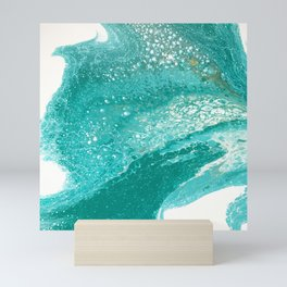 Riding the Waves Mini Art Print