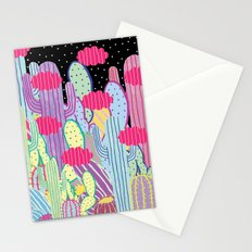 Cactus Party Stationery Cards