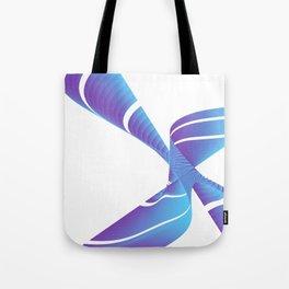 chinese fingertrap pinwheel Tote Bag