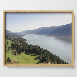 The Columbia River Gorge IV Serving Tray
