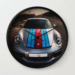 Porsche GT3 911 Wall Clock