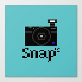 Snap Canvas Print
