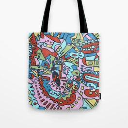 Tear My Heart Out (Garden) Tote Bag