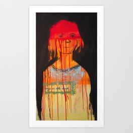 Leap in the Dark Art Print