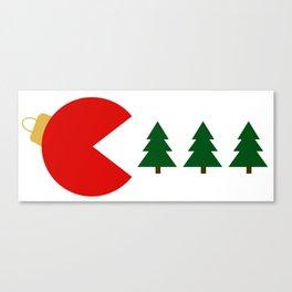 Christmas Tree Munchies Canvas Print