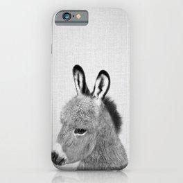 Donkey - Black & White iPhone Case