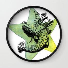 Star Fish Wall Clock