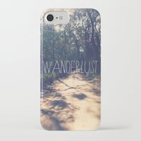wanderlust iPhone & iPod Cases featuring Wanderlust by Louise