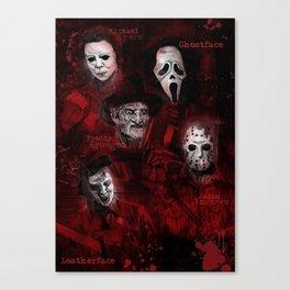 Killer Montage Canvas Print