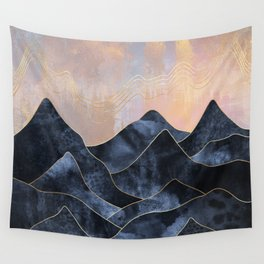 Mountainscape Wall Tapestry