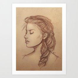 Nynaeve al'Meara sketch Art Print