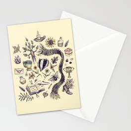 Hufflepuff, Loyal and True Stationery Cards