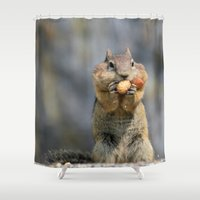 peanuts Shower Curtains featuring Peanuts by RDelean