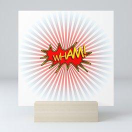 Wham explosion Mini Art Print