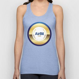 AirBit Club LOGO for fans Unisex Tank Top