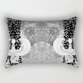 Egyptia geomtry 1 Rectangular Pillow
