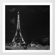 La Nuit (Paris Night) Art Print