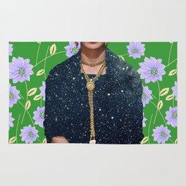 Flowers Frida Kahlo VI Rug