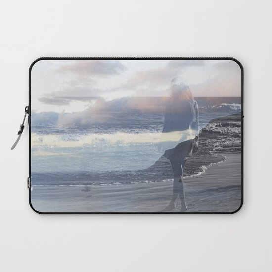 Into the Wave Laptop Sleeve