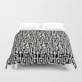 Maze Knit Duvet Cover