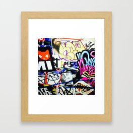 grafiti v.5 Framed Art Print