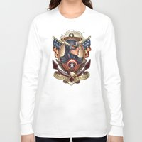 forever young Long Sleeve T-shirts featuring FOREVER YOUNG by Tim Shumate