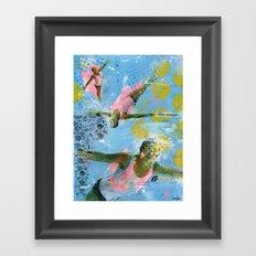 VACANCY zine - Illusion sentimentale Framed Art Print