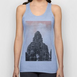 Angkor Wat with candy Unisex Tank Top