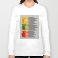 bears Long Sleeve T-shirts featuring Bears by Ocso