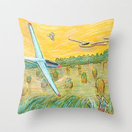 Flying Dreams Throw Pillow