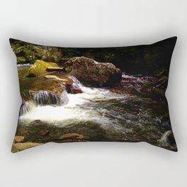 Little Stony Creek Rapids - Cascade Trail Rectangular Pillow