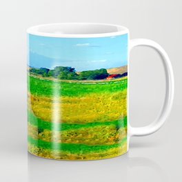 Nestled in the Valley:  Smoke on the Horizon Coffee Mug