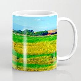 Nestled in the Valley:  Smoke on the Horizon Coffee Mug