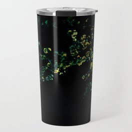 abstract flower bouquet in the moonlight Travel Mug